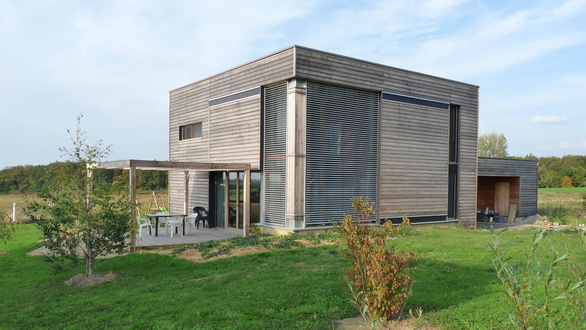 Maison en bois Alsace