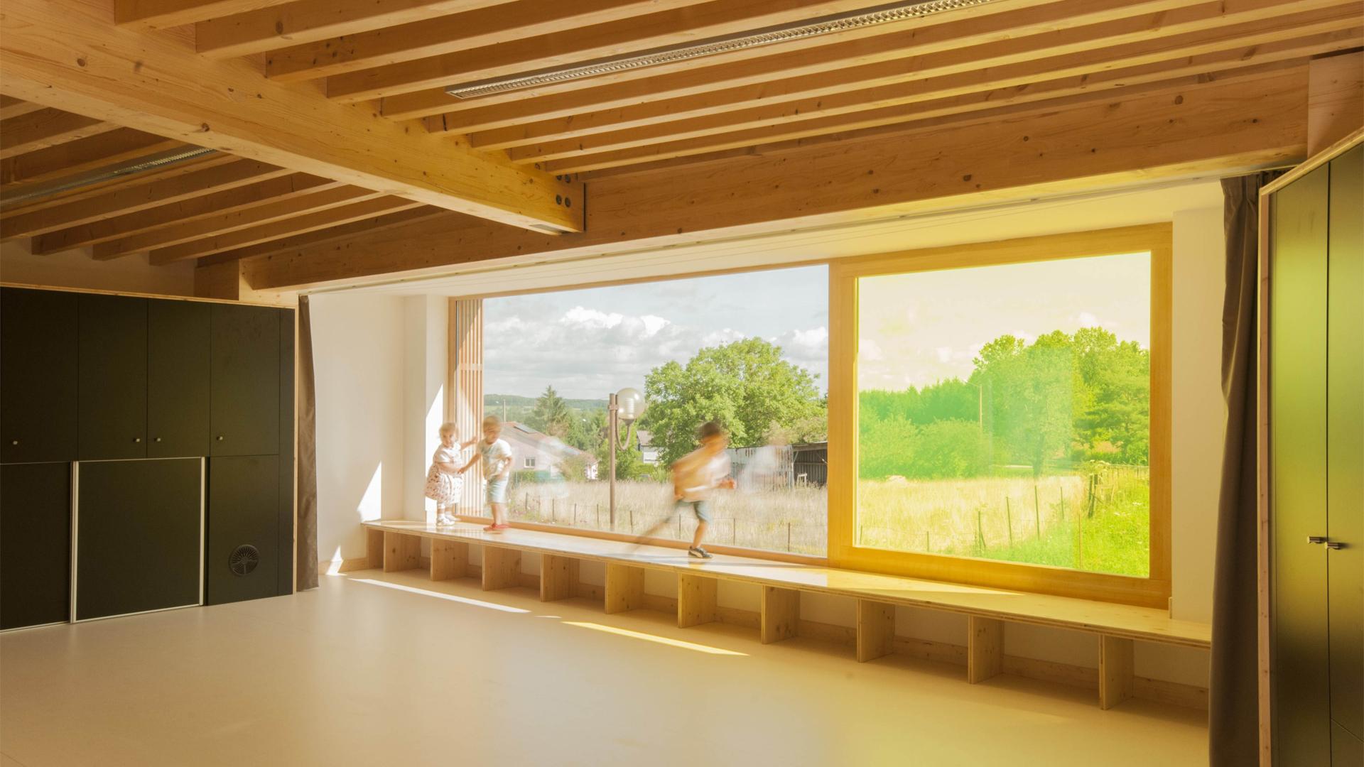 batiment ossature bois - Vosges Sanchey - 03