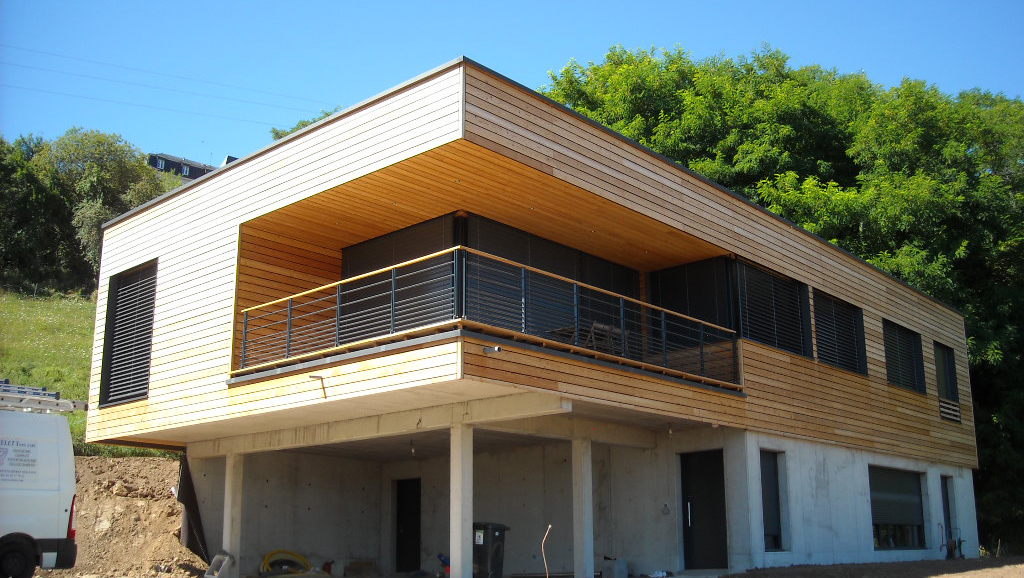 maison bois Bas-Rhin Alsace