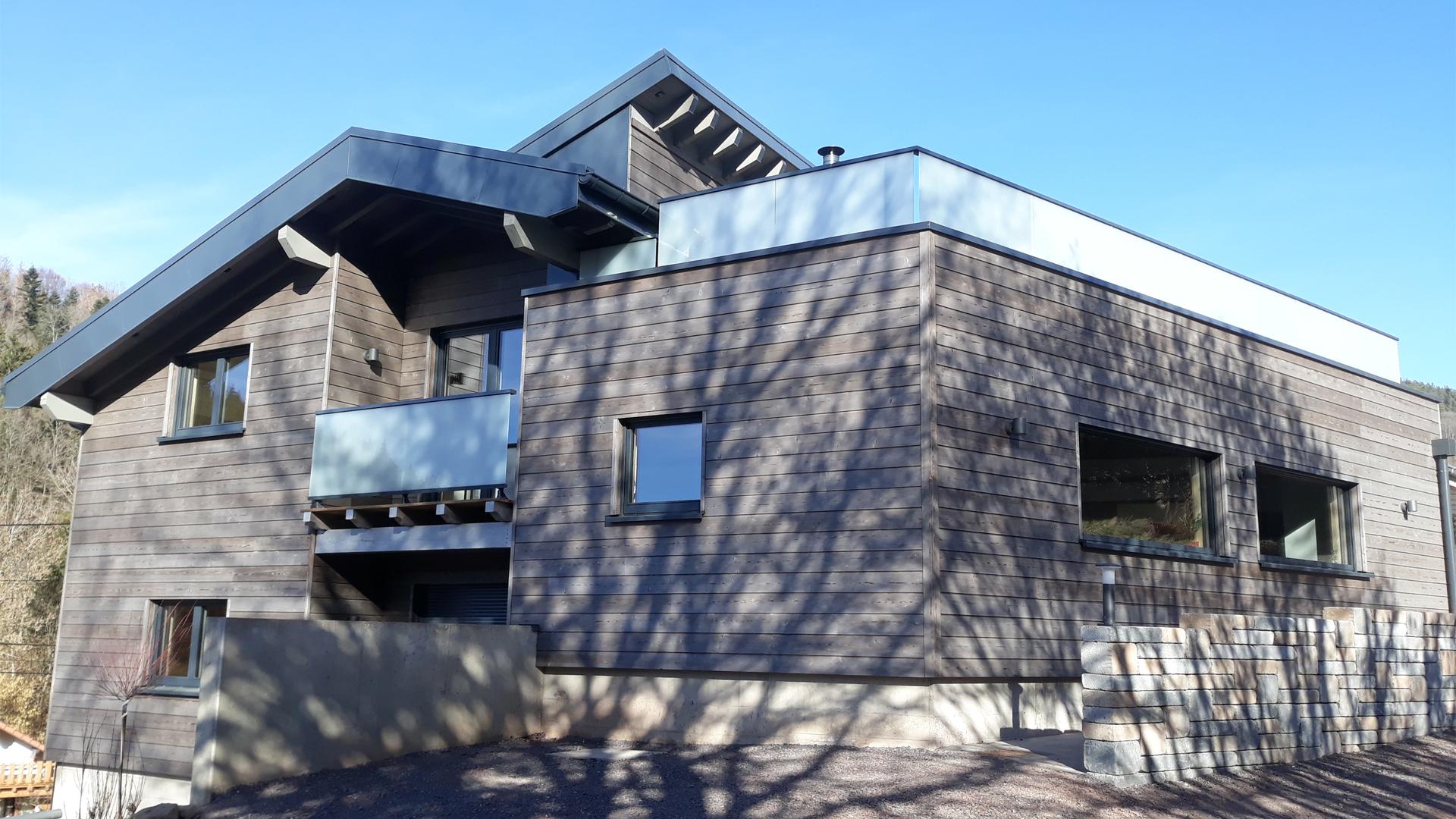 maison ossature bois - Vosges St Die 2 - 01