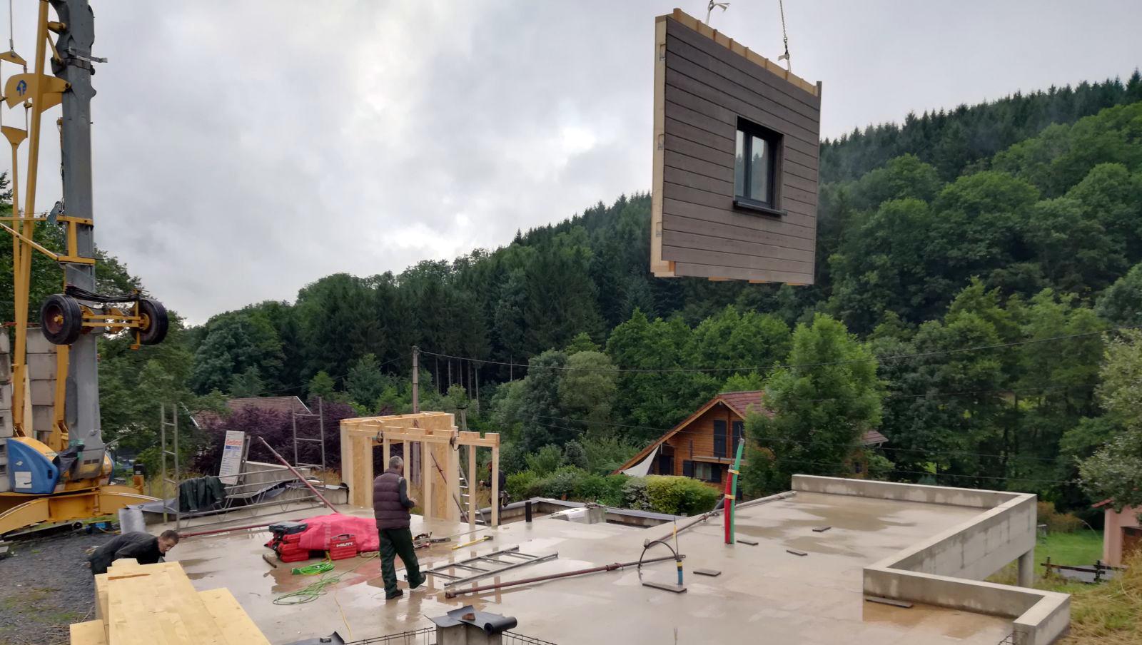maison ossature bois - Vosges St Die 2 - 05