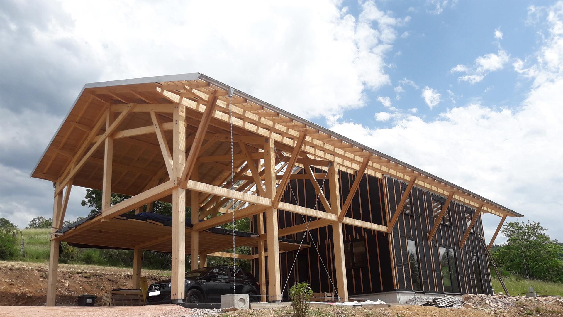 Maison ossature bois Vosges