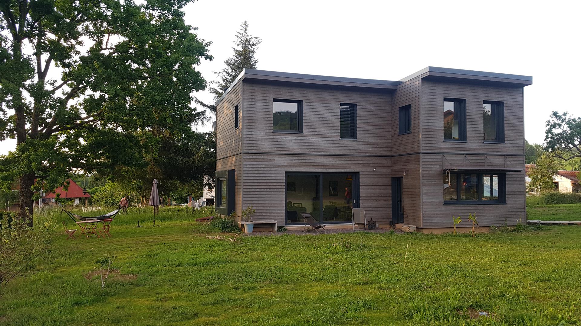 maison ossature bois - Vosges St Die 1 - 01
