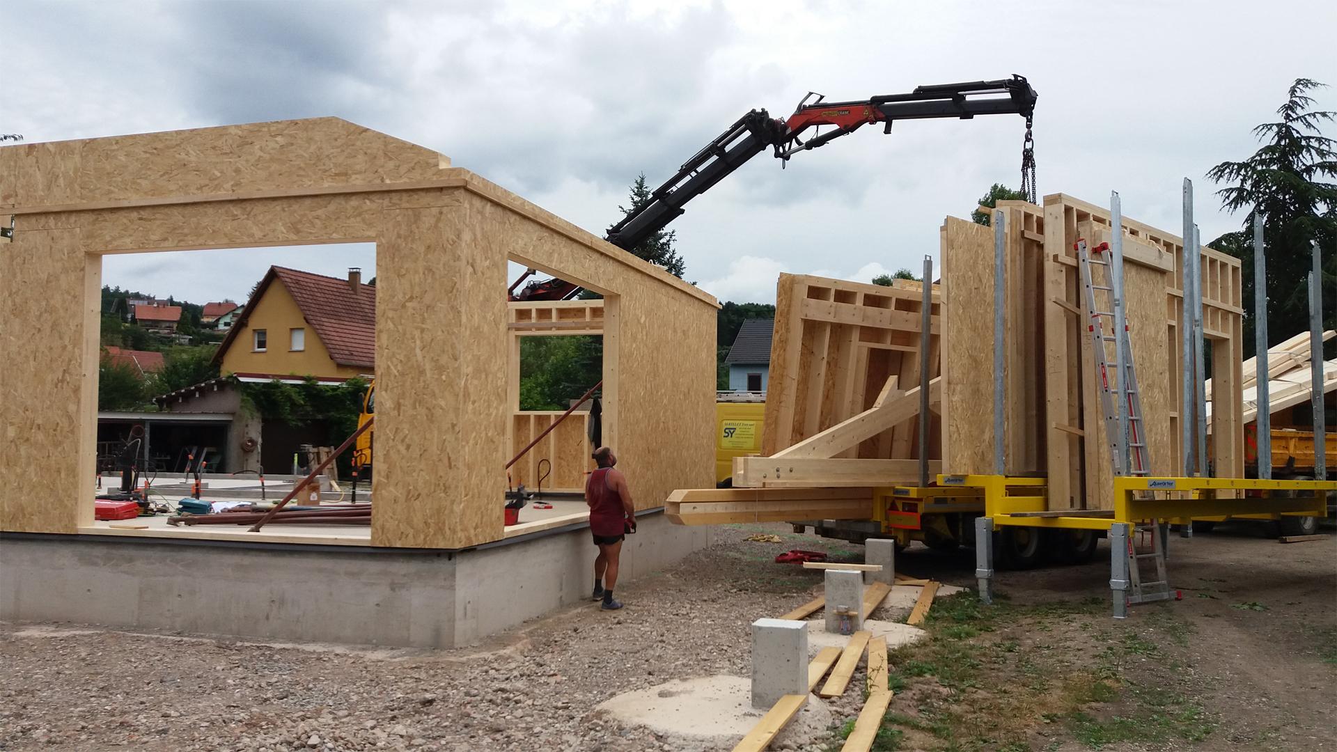 maison en bois - plan maison en bois